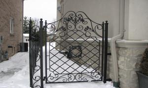 Toronto wrought iron gates