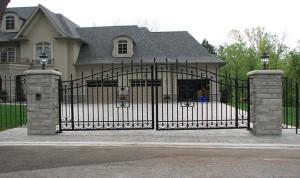 Toronto's wrought iron gates